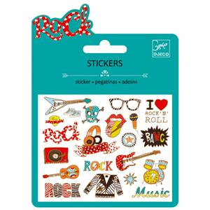 Mini - stickers : Pop rock