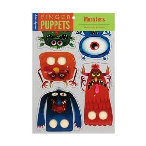 Vingerpopjes : Monsters