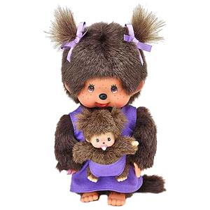 Monchhichi : Mother Care paars