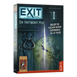 Exit escape game: De verlaten hut