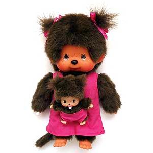 Monchhichi : Mother Care pink