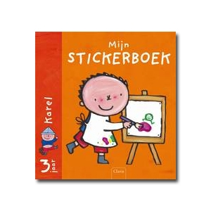 Mijn stickerboek : Karel