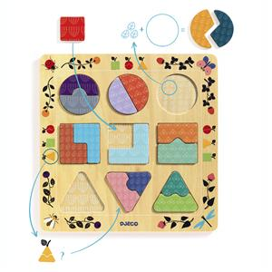 Houten puzzels Djeco