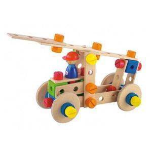 Constructiespeelgoed met schroeven