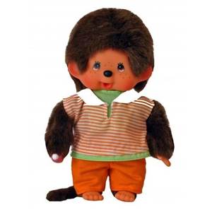 Monchhichi : Orange pant boy