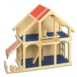 Poppenhuis veranda van goki online kopen for Poppenhuis voor peuters