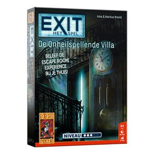 Exit escape game : De onheilspellende villa