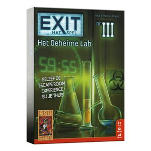 Exit escape game : Het geheime lab
