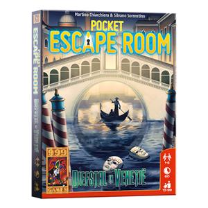 Pocket Escape Room : Diefstal in Venetië